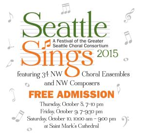 Seattle Sings! festival 2015